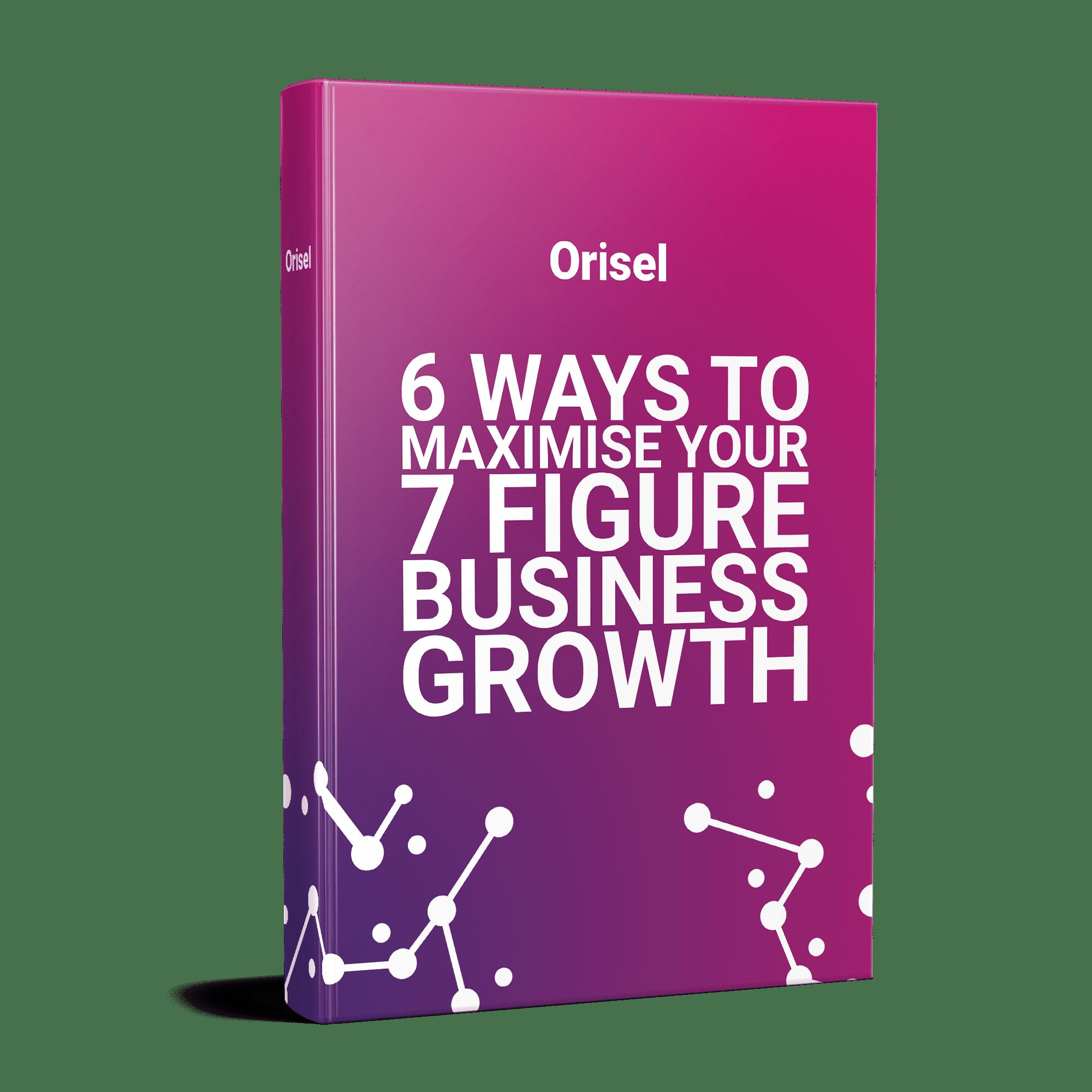 Orisel - Maximise your Growth Mock-up 1