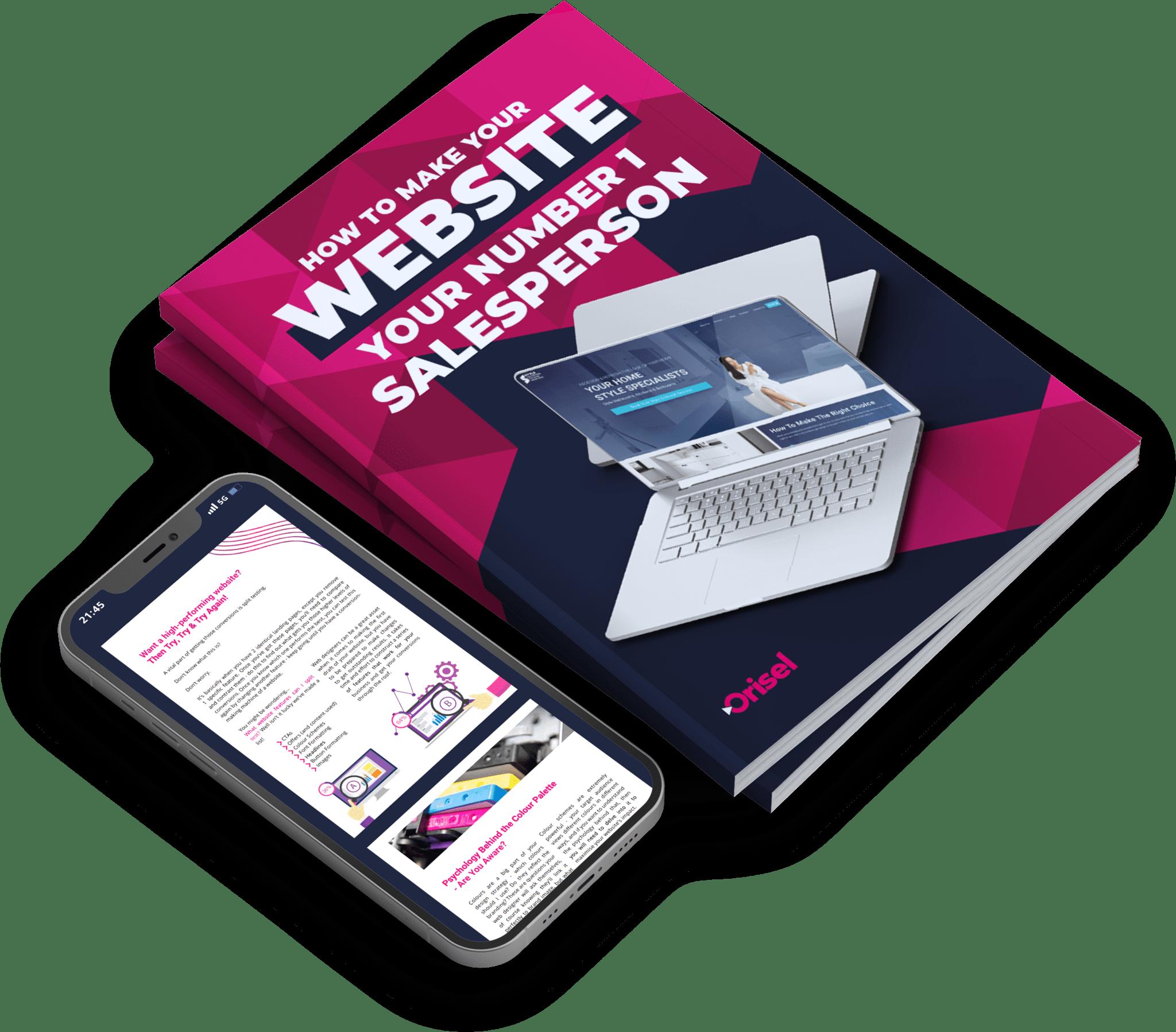 Website No1 Salesperson Mockup